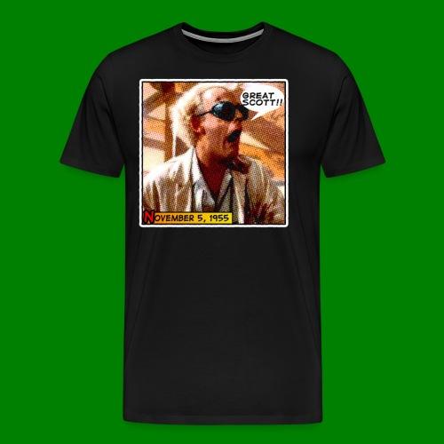 Great Scott! - Men's Premium T-Shirt