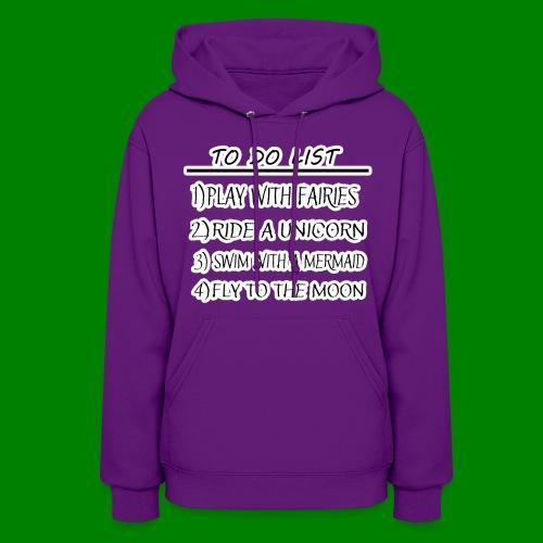 To Do List - Women's Hoodie