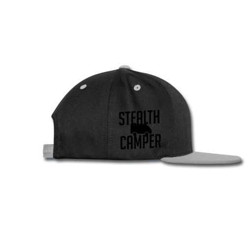 Stealth Camper - Snap-back Baseball Cap