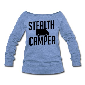 Stealth Camper - Women's Wideneck Sweatshirt