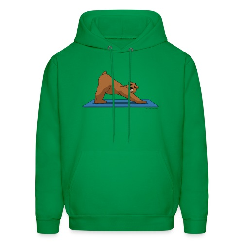 Oh So Yoga - Downward Dog - Men's Hoodie