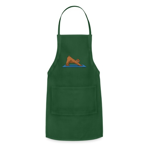 Oh So Yoga - Downward Dog - Adjustable Apron