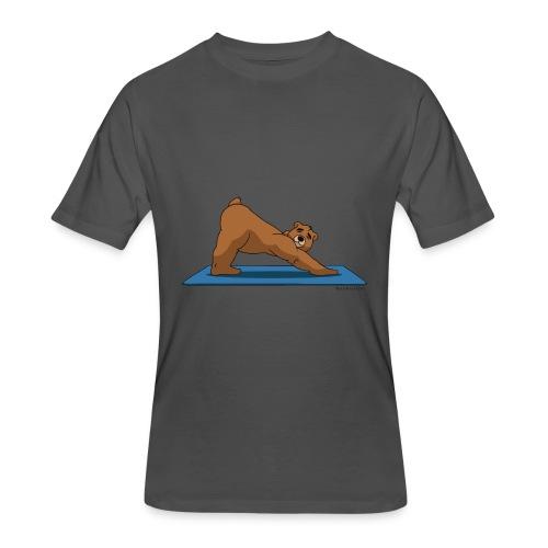 Oh So Yoga - Downward Dog - Men's 50/50 T-Shirt