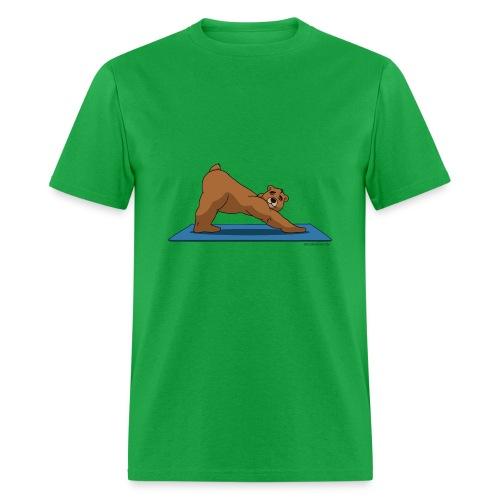Oh So Yoga - Downward Dog - Men's T-Shirt