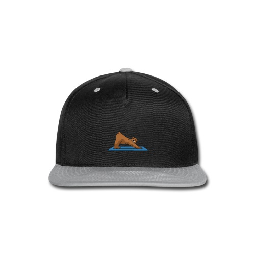Oh So Yoga - Downward Dog - Snap-back Baseball Cap