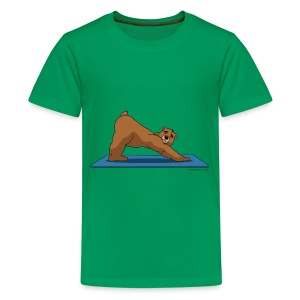 Oh So Yoga - Downward Dog - Kids' Premium T-Shirt