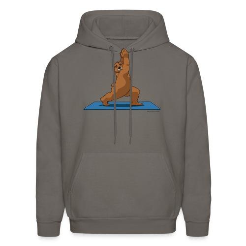 Oh So Yoga - Warrior 1 - Men's Hoodie