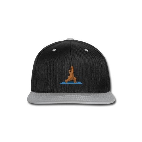 Oh So Yoga - Warrior 1 - Snap-back Baseball Cap