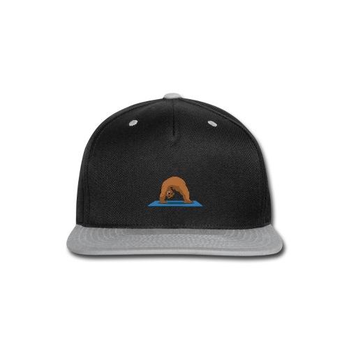 Oh So Yoga - Wheel - Snap-back Baseball Cap