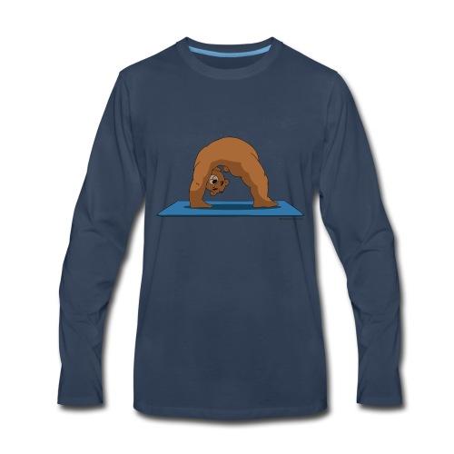 Oh So Yoga - Wheel - Men's Premium Long Sleeve T-Shirt