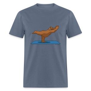 Oh So Yoga - Warrior 3 - Men's T-Shirt