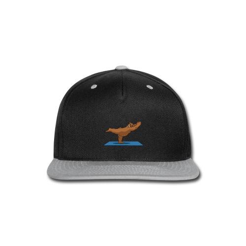 Oh So Yoga - Warrior 3 - Snap-back Baseball Cap