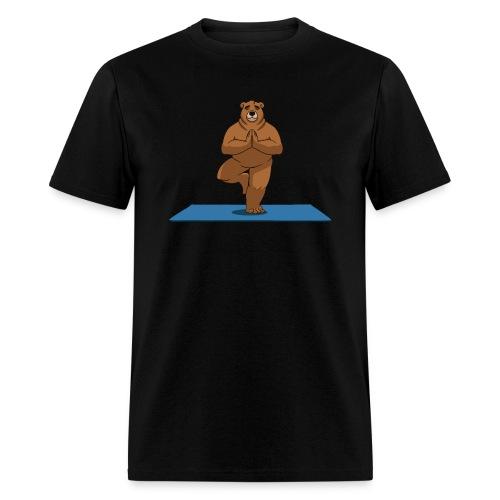 Oh So Yoga - Tree - Men's T-Shirt