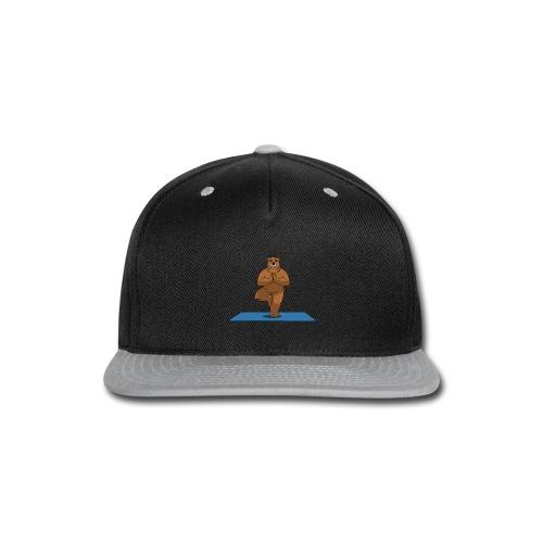Oh So Yoga - Tree - Snap-back Baseball Cap