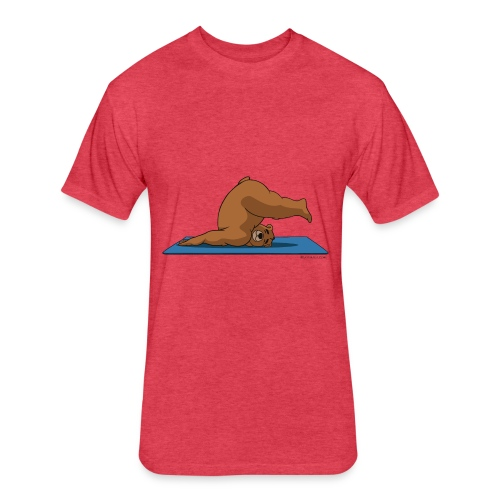 Oh So Yoga - Plow - Fitted Cotton/Poly T-Shirt by Next Level