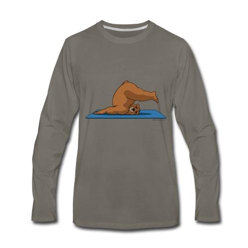 Oh So Yoga - Plow - Men's Premium Long Sleeve T-Shirt