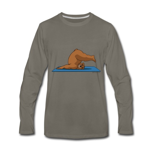 Oh So Yoga - Plow - Men's Premium Long Sleeve T-Shirt