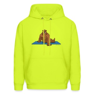 Oh So Yoga - Spine Twist - Men's Hoodie