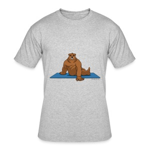 Oh So Yoga - Spine Twist - Men's 50/50 T-Shirt