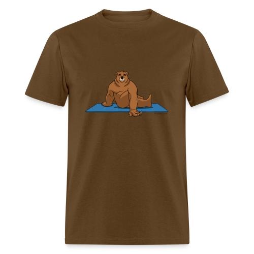 Oh So Yoga - Spine Twist - Men's T-Shirt