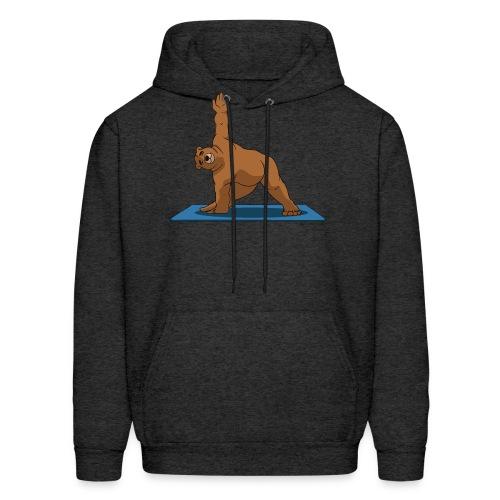 Oh So Yoga - Triangle - Men's Hoodie