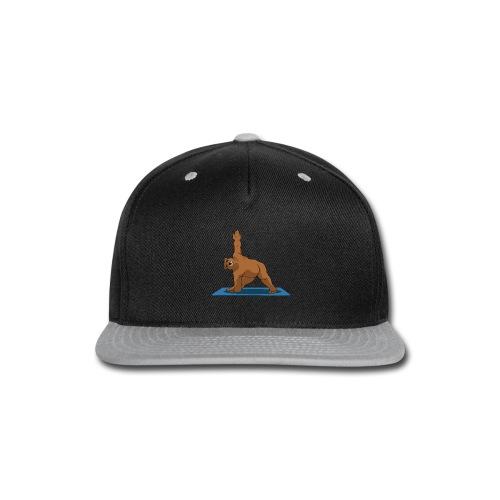 Oh So Yoga - Triangle - Snap-back Baseball Cap