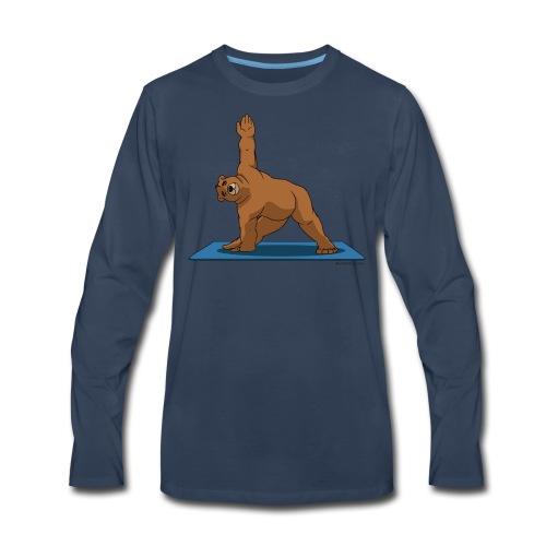 Oh So Yoga - Triangle - Men's Premium Long Sleeve T-Shirt