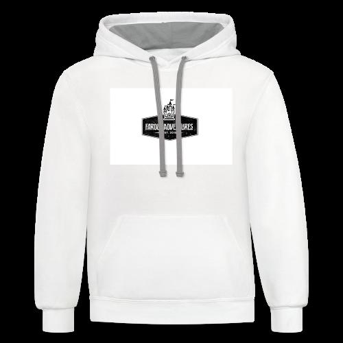 FarOut AdventuresLogo Shirt  - Contrast Hoodie
