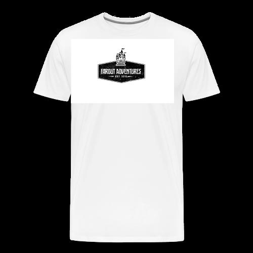 FarOut AdventuresLogo Shirt  - Men's Premium T-Shirt