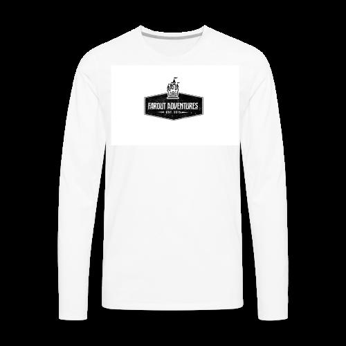 FarOut AdventuresLogo Shirt  - Men's Premium Long Sleeve T-Shirt