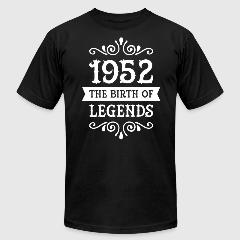 1952 - The Birth Of Legends T-Shirts - Men's T-Shirt by American Apparel