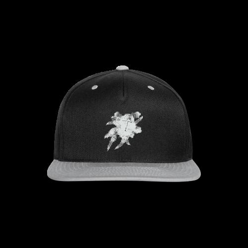Black Scribble T - Snap-back Baseball Cap