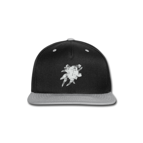 Black Scribble T - Snap-back Baseball Cap