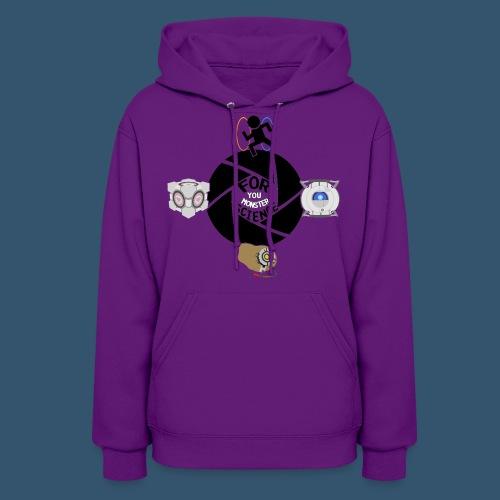 Women's Premuim T-Shirt | Portal 2 Mashup - Women's Hoodie
