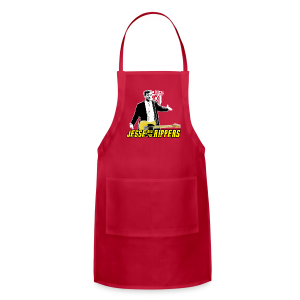 Jesse (Marsch) & the Rippers – Red Men's T-Shirt - Adjustable Apron