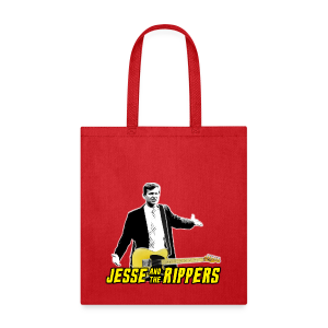 Jesse (Marsch) & the Rippers – Red Men's T-Shirt - Tote Bag