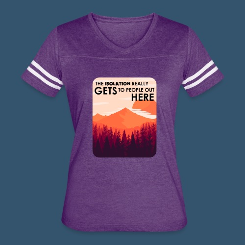 Women's Premium T-Shirt | Firewatch Isolation - Women's Vintage Sport T-Shirt