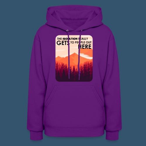 Women's Premium T-Shirt | Firewatch Isolation - Women's Hoodie