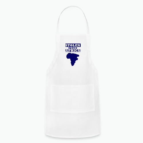 Stolen From Africa Kids Hoodie (Blue Logo) - Adjustable Apron
