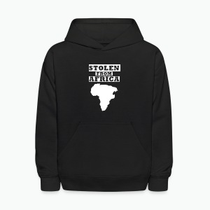 Stolen From Africa Toddler Premium T-Shirt (White Logo) - Kids' Hoodie