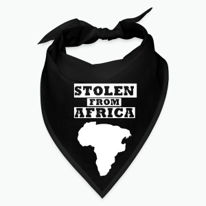 Stolen From Africa Toddler Premium T-Shirt (White Logo) - Bandana