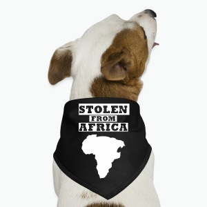 Stolen From Africa Toddler Premium T-Shirt (White Logo) - Dog Bandana