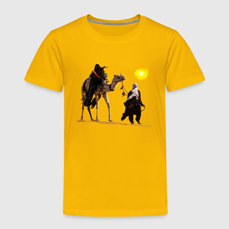 bedouin with camel Baby & Toddler Shirts - Toddler Premium T-Shirt