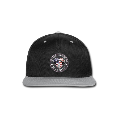 This girl is protected - Snap-back Baseball Cap
