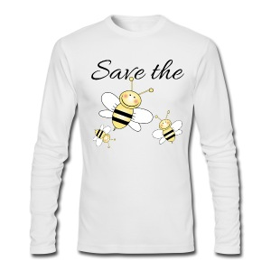Save The Bees - Men's Long Sleeve T-Shirt by Next Level