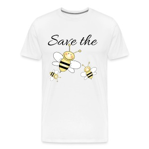 Save The Bees - Men's Premium T-Shirt