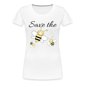 Save The Bees - Women's Premium T-Shirt