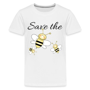 Save The Bees - Kids' Premium T-Shirt