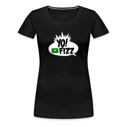 Yo Fizz Logo WOMENS - Women's Premium T-Shirt