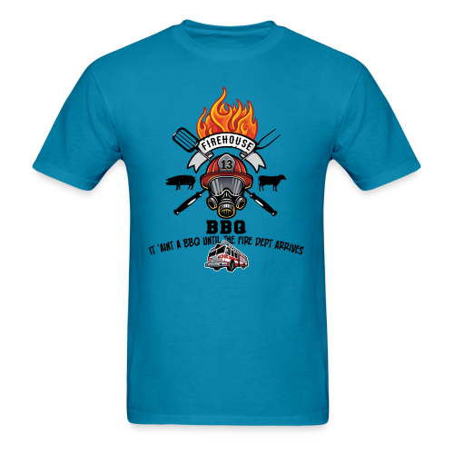 Firehouse BBQ - Men's T-Shirt
